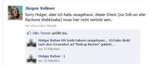 Der Marburger Jürgen Vollmer schmäht