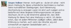 Jürgen Vollmer, Marburg schmäht