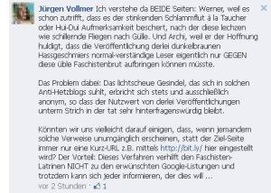 Marburg - Jürgen Vollmer schmäht seine Gegner