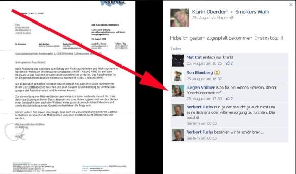 Jürgen Vollmer (Marburg, Piratenpartei) beleidigt Bürgermeister