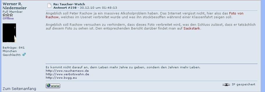 Vereumdung durch Werner R. Niedermeier