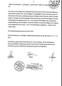 Urteil Landgericht Marburg 5s73/13