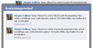 """Jürgen Vollmer aus Marburg beleidigt Rauchgegner als """"Blockwart"""" und """"Fascho"""""""