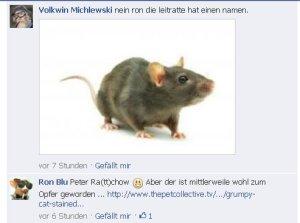 """Ronald Blumbgerg und Volkwin Michlewski zum Thema """"Ratten"""""""