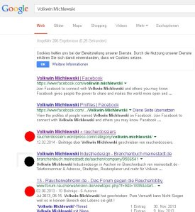 Volkwin Michlewski GOOGLE 22 Februar 2014