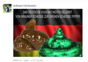 Volkwin Michlewskis Scheißehaufen