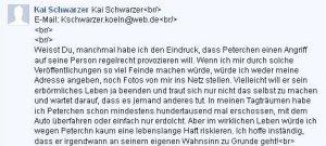 Kai Schwarzers Killerphantasien