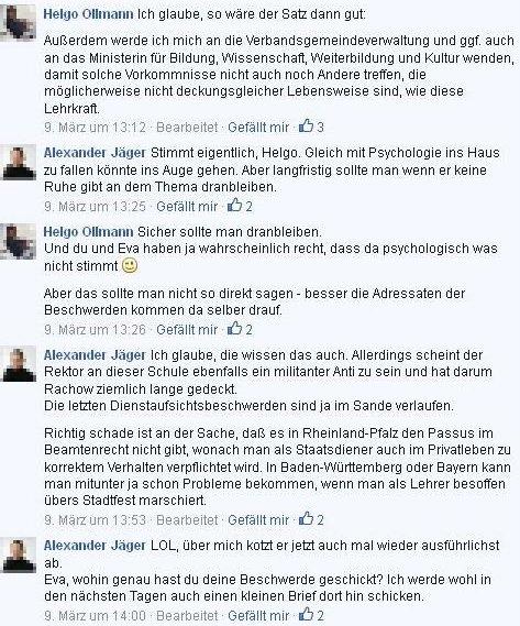Alexander Jäger aus Aalen (FDP) denunziert gerne mal Menschen, deren Meinung ihm nicht passt