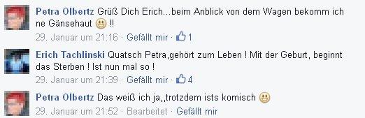 Petra Olbertz mag keine Leichenwagen