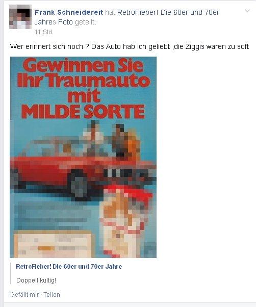 Frank Schneidereit und sein Traumwagen