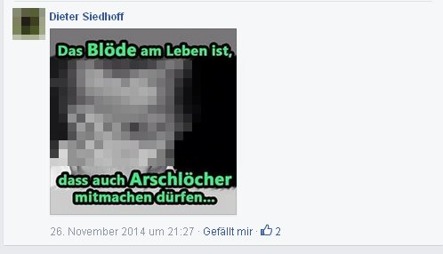 Dieter Siedloff - Arschlöcher