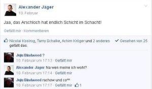 Der Aalener FDP-Poltiker und Juwelier ALEXANDER JÄGER beleidigt Antiraucher