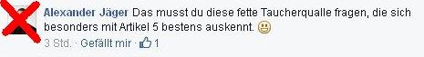 Alexander Jäger aus Aalen beleidigt andere Menschen im Internet