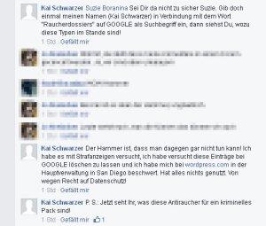 Kai Schwarzer aus Köln hat ein Problem mit der Außenwirkung