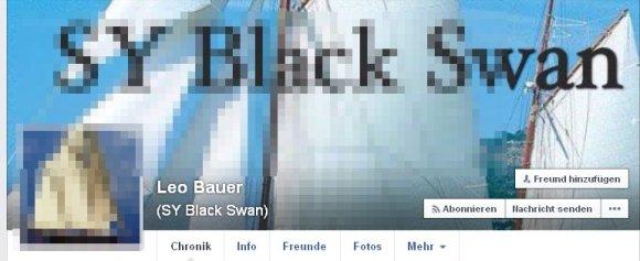 """Leo Bauer und seine """"Black Swan"""""""