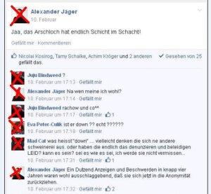 """Alexander Jäger """"Arschloch"""""""