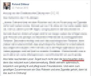 Roland Dittmar von
