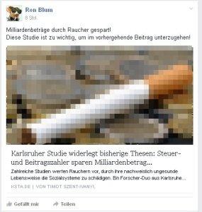 Ronald Blumberg aus Radevormwald: Selbstmord entlastet Sozialsysteme!