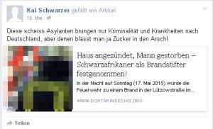 Kai Schwarzer:Kölner Busfahrer hetzt gegen Schwarze