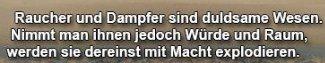Dummer Spruch von Jürgen Vollmer für das