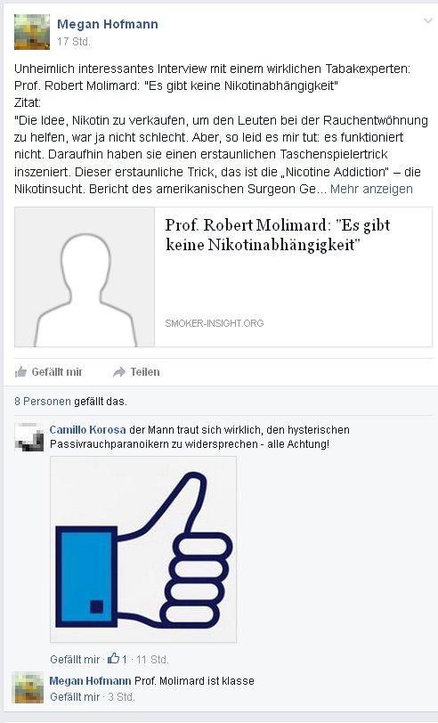 """Megan Hoffmann bei """"Netzwerk Rauchen"""" - Kein Durchblick"""