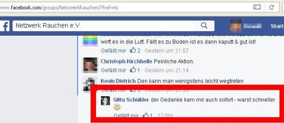 """Gitta Schüssler von der NPD darf bei """"NEtzwerk Rauchen"""" mitspielen."""