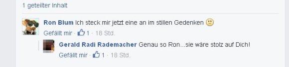 Ronald Blumberg und Gerald Rademacher - Peinlichste Beileidsbekundung ever!